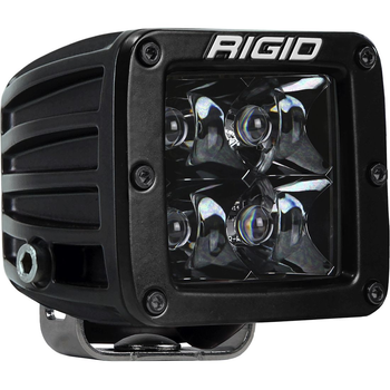 Rigid Industries Midnight Edition D-Series Pro, Spot (Surface Mount)