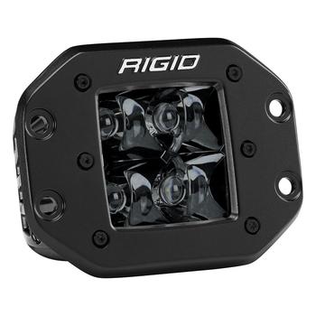 Rigid Industries Midnight Edition D-Series Pro, Spot (Flush Mount)
