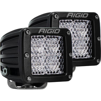Rigid Industries D-Series Pro, Flood Diffused (Surface Mount) Pair