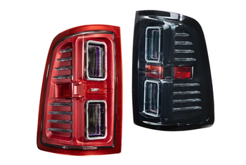 Morimoto XB LED Tail Lights for 2009-2018 Dodge Ram (Smoked)