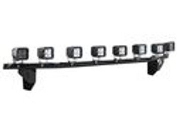 N-FAB 2015-2017 Ford F150 Radius Light Bar w/ Multi Mount