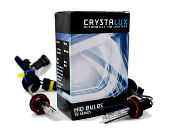 CrystaLux T5 Series HID Bulbs, H8/H9/H11 (Pair)