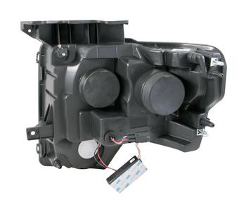 2009-2014 F150 & Raptor ANZO G2 CCFL Halo Projector Headlights (Chrome)