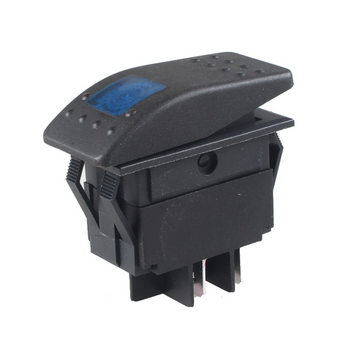 Blue Rocker Switch