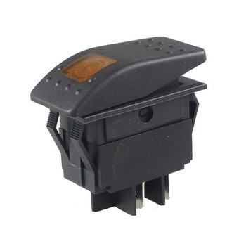 Amber/Yellow Rocker Switch