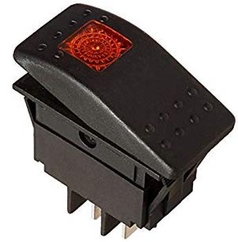 Red Rocker Switch