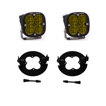 Baja Designs 2006-2014 Ford F-150/2007-2013 Toyota Tacoma SAE Fog Light Kit, Amber