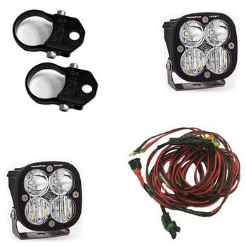 "Baja Designs Squadron Sport, Kit (Lights, Vertical Mounts 2"", Harness)"