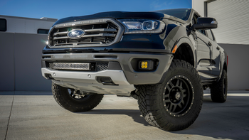 Baja Designs 2019+ Ford Ranger Fog Pocket Kit (SAE Amber)