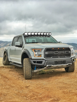 "KC HiLiTES Gravity® LED Pro6 15-19 Ford F-150/Raptor 9-Light 57"" LED Light Bar"