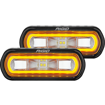 Rigid Industries SR-L Series Spreader, Surface Mount (Amber)