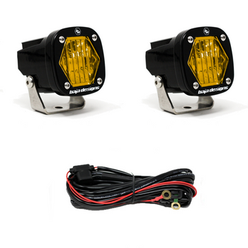 Baja Designs S1 LED Pair, Wide Cornering, Amber