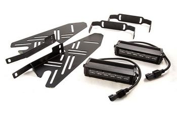 Diode Dynamics 2017+ Ford Raptor SS6 LED Fog Lightbar Kit (Driving)