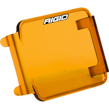 Rigid Industries D-Series Light Cover (Clear/Amber)