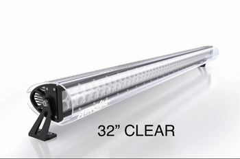 "Aerolidz Light Bar Cover - 30"" / 32"" - Clear - Dual Row"
