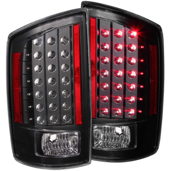 Anzo Dodge RAM 1500 06-08 / RAM 2500/3500 07-09 L.E.D Tail Lights (Black)