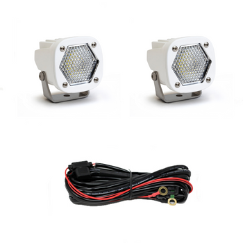 Baja Designs S1 LED, White Pair, Work/Scene