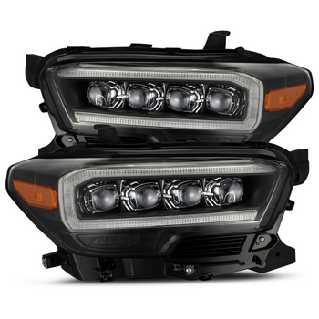 AlphaRex 16-20 Toyota Tacoma NOVA-Series LED Projector Headlights (Black)