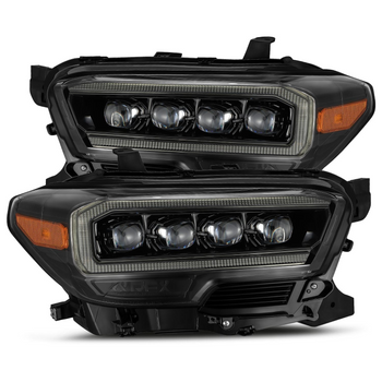 AlphaRex 16-20 Toyota Tacoma NOVA-Series LED Projector Headlights (Alpha-Black)