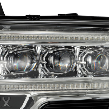 AlphaRex 16-20 Toyota Tacoma NOVA-Series LED Projector Headlights (Chrome)