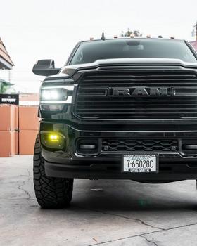 Baja Designs Ram 2500/3500 (2019+) S2 Fog Pocket Kit (White)