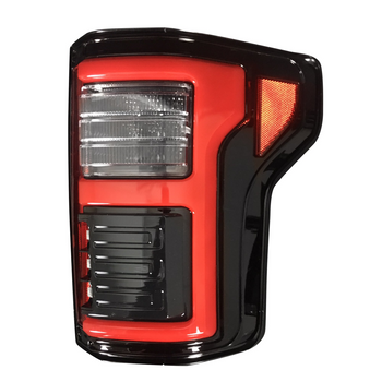 Recon Ford F150 15-17 & Raptor 17-20 Tail Lights OLED in Smoked