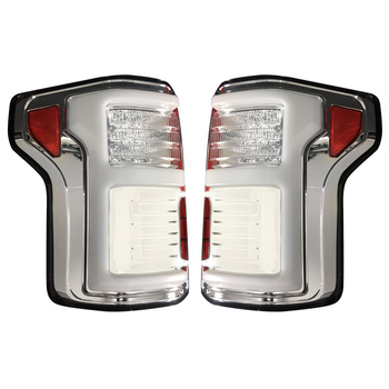 Recon Ford F150 15-17 & Raptor 17-20 Tail Lights OLED in Clear