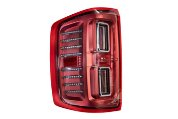 Morimoto XB LED Tail Lights for 2014-2018 Chevrolet Silverado (Red)