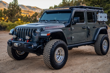 Baja Designs Jeep JL/JT OnX6+ Roof Bar Kit (Toggle Switch)
