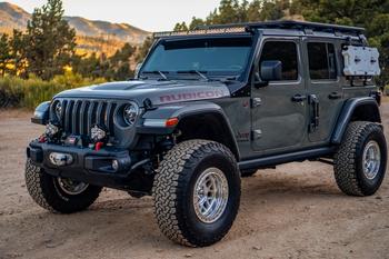 Baja Designs Jeep JL/JT S8 Roof Bar Kit (Toggle Switch)