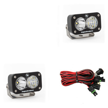 Baja Designs S2 Sport, Pair LED Driving/Combo (CLEARANCE)