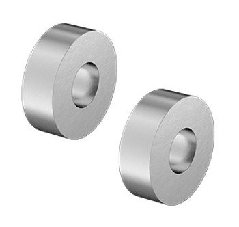 18-8 Stainless Steel Unthreaded Spacers (Pair)