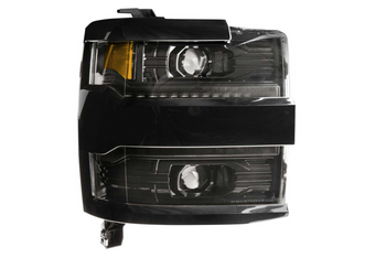 Morimoto XB LED Headlights for 2015-2019 Chevrolet Silverado HD (Paintable Trim)