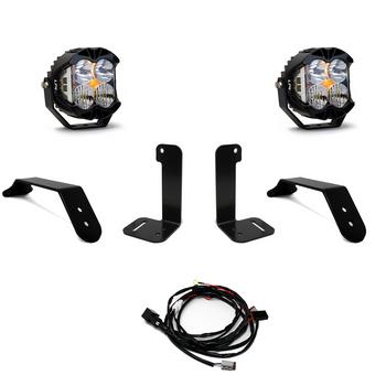 Baja Designs Jeep JL/JT Bumper Light Kit (Dual LP4 w/Toggle Switch)