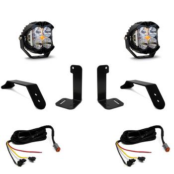 Baja Designs Jeep JL/JT Bumper Light Kit (Dual LP4 w/Upfitter)
