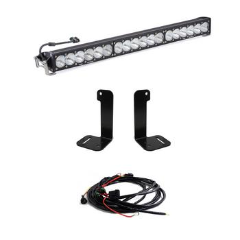 """Baja Designs Jeep JL/JT Bumper Light Kit (30"""" OnX6+ Bar w/Toggle Switch)"""