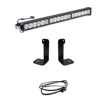 """Baja Designs Jeep JL/JT Bumper Light Kit (30"""" OnX6+ Bar w/Upfitter)"""