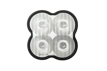 Diode Dynamics Clear Lens (Single) for SS3 Pods (SAE Driving)