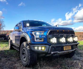 Baja Designs 2017-2020 Ford Raptor Complete Bumper Light Setup (w/4 LP6 or LP9)