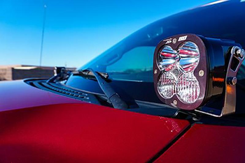 SDHQ 2010-2014 Ford Raptor A-Pillar Light Mounts