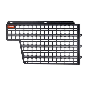 BuiltRight Industries Bedside Rack System Cab Wall Kit for Toyota Tacoma (2005-2021), Short Bed