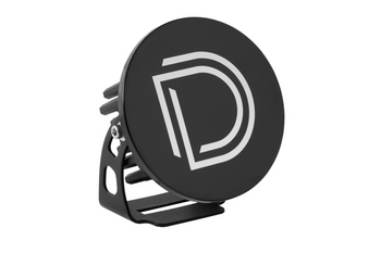 """Diode Dynamics Stage Series 3"""" Round LED Pod Cover (Black)"""