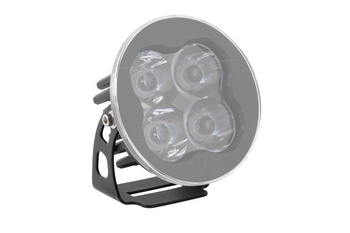 """Diode Dynamics Stage Series 3"""" Round LED Pod Cover (Clear)"""