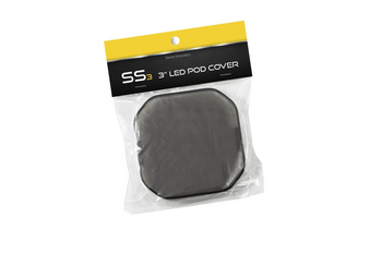 """Diode Dynamics Stage Series 3"""" Standard LED Pod Cover (Smoked)"""
