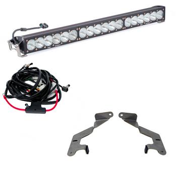 "Baja Designs 30"" 30"" Grille LED Light Bar Kit (w/ 30"" OnX6+) for 2014-2021 Toyota Tundra"