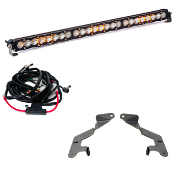 "Baja Designs 30"" 30"" Grille LED Light Bar Kit (w/ 30"" S8) for 2014-2021 Toyota Tundra"