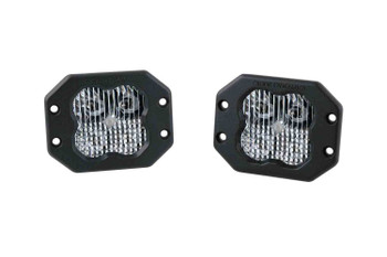"""Diode Dynamics Stage Series 3"""" Sport White Combo Flush (Pair)"""