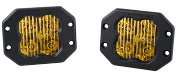 """Diode Dynamics Stage Series 3"""" Sport Yellow Driving Flush (Pair)"""