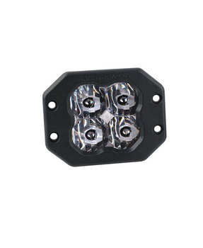 """Diode Dynamics Stage Series 3"""" Sport White SAE Driving Flush (Single)"""