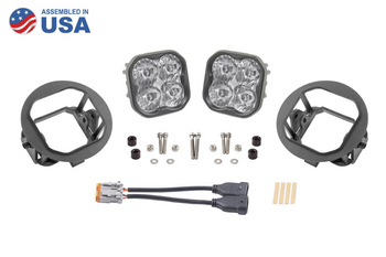 """Diode Dynamics Stage Series 3"""" Sport White SAE Driving Type FT Fog Kit (2006-2014 Ford F-150, 2005-2011 Toyota Tacoma, 2007-2013 Toyota Tundra)"""